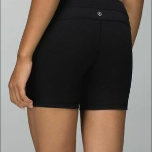 Lululemon Tight Fit Running Shorts